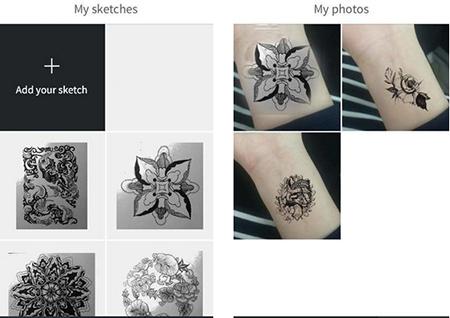 InkHunter测评:AR技术的纹身