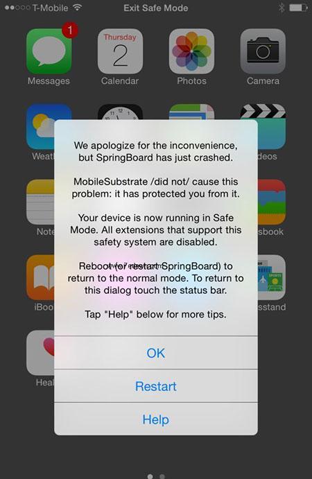 iOS8.4越狱后Activator无法使用解决教程