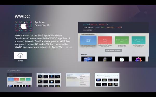 苹果更新WWDC2016 iOS版应用
