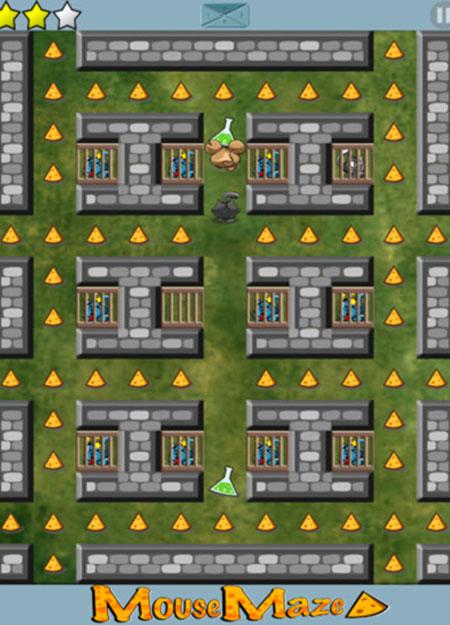 老鼠走迷宫 ios版V4.3 - 截图1