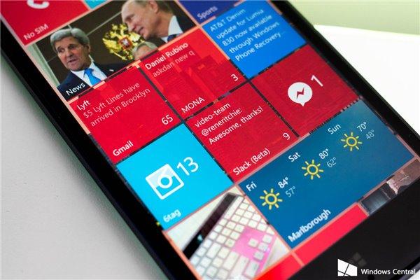 Win10 Mobile预览版即将推送
