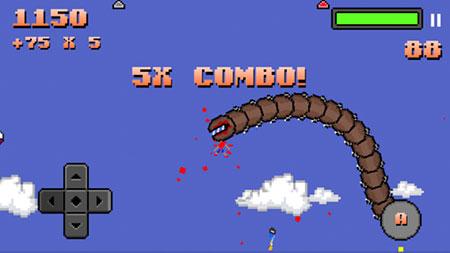 超级巨型蠕虫 ios版V2.0 - 截图1