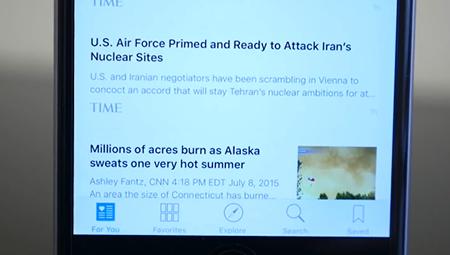 iOS9 News应用使用教程 中国用户体验News教程