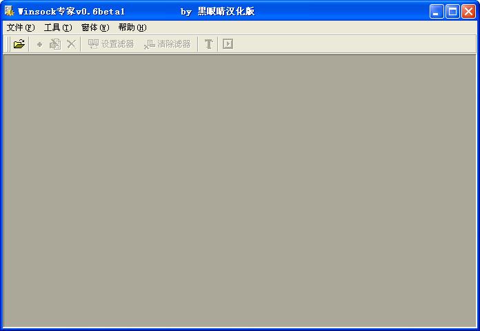 WSockExpert汉化绿色版 V0.6 - 截图1