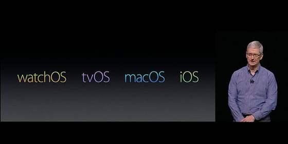 苹果在WWDC2016上展现未来发展四大趋势