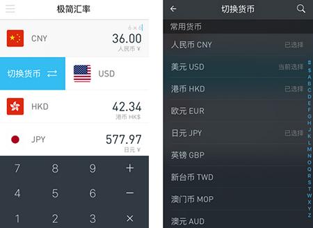 极简汇率测评:一款简单实用的汇率工具