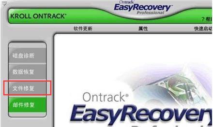 利用EasyRecover恢复损坏文档的方法