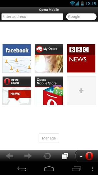 Opera Mobile浏览器 v37.1.251 - 截图1