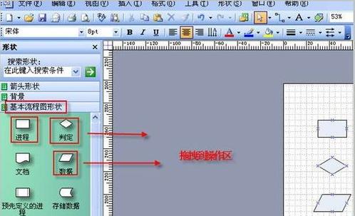怎样使用Office Visio绘制流程图2