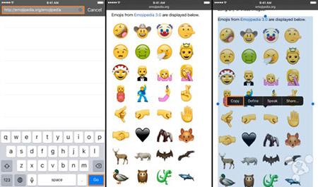Unicode 9.0的到来:iOS设备上用上72个全新的emoji