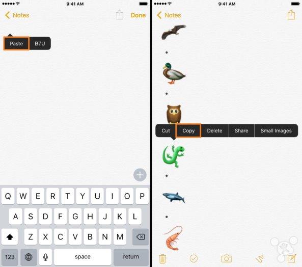 苹果iOS设备最新的Unicode emoji