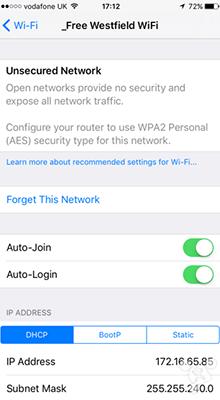 苹果iOS10 beta1新特性曝光:新增WiFi安全提醒