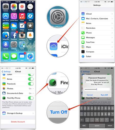 教你如何抹去iPhone所有的数据内容1