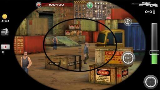 狙击杀手3D安卓版 v1.2.0 - 截图1