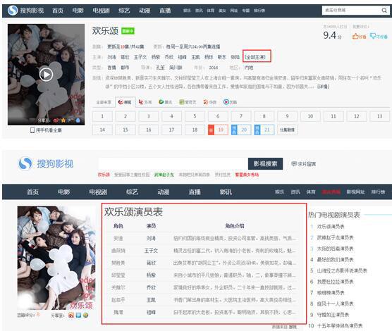 搜狗网址导航评测:影视频道全新升级3