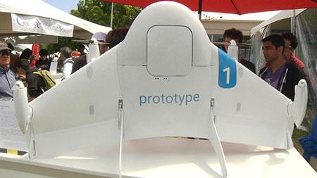 谷歌的无人机开测:将是美国规模最大的一次无人机送货实验