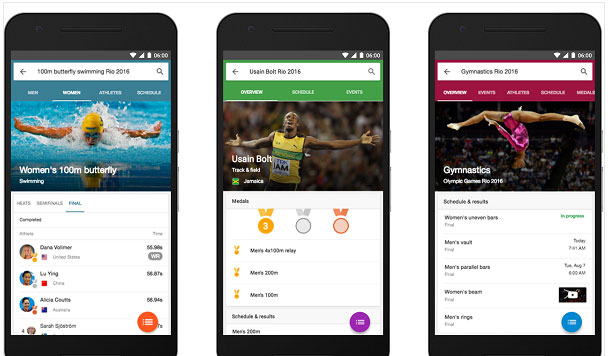 从搜索到视频到地图 谷歌奥运全面服务