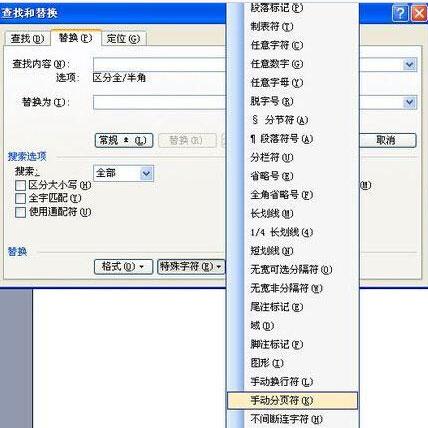word删除空白页3