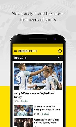 BBC Sport安卓版 v1.8.2 - 截图1