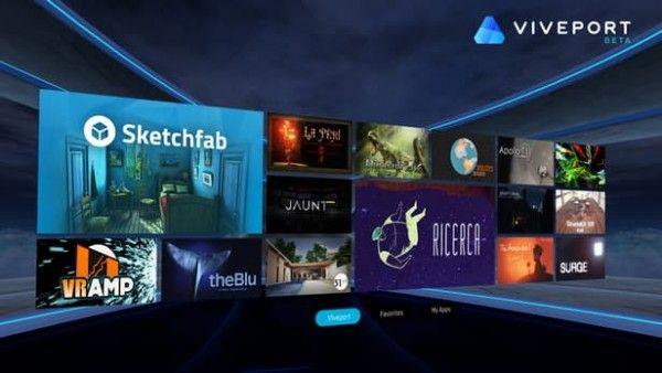HTC的VR商店2