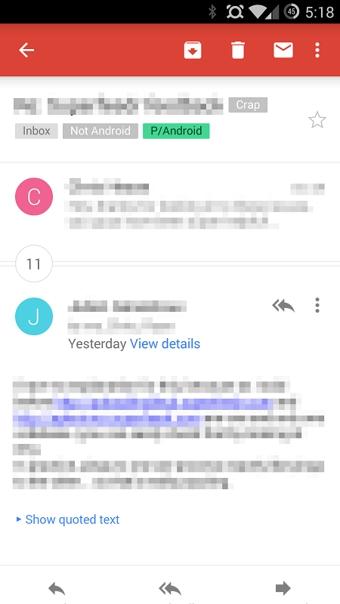 Gmail邮箱安卓版 v5.8 - 截图1