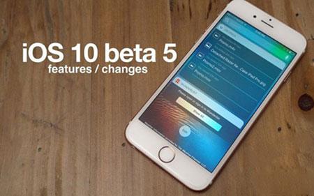 苹果发布iOS 10 beta5测试版:总体未变部分功能优化