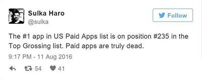 苹果App Store付费游戏在大幅降价:中国区被一元游戏霸榜