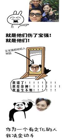 殴打马蓉经纪人宋喆表情包合集 - 截图1