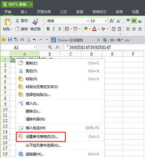 WPS表格中输入数值变成乱码怎么办