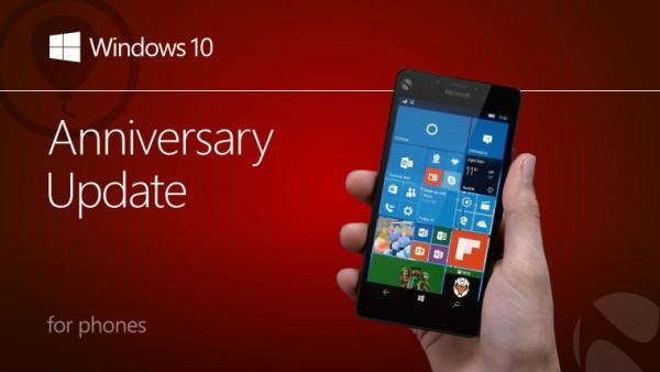 Windows 10 Mobile周年更新正式推送