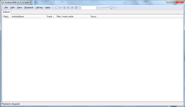 Foobar2000绿色版 V1.3.11 Beta5 - 截图1