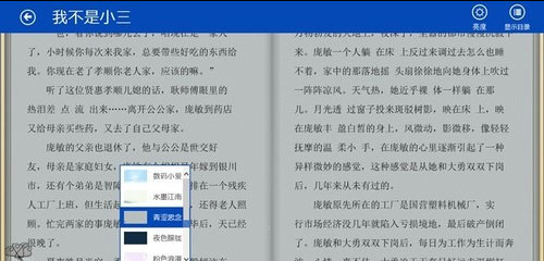 Win8版熊猫看书评测:轻薄便携满足大部分用户的阅读需求7