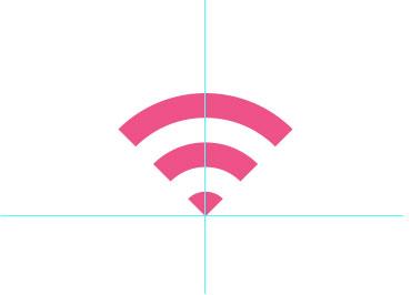 如何用Photoshop CC制作WIFI信号图标7