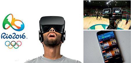 VR技术首次应用奥运:体育综艺将成为VR的重量级内容