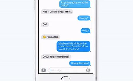 iOS10短信应用发送动画教程1