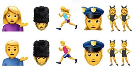 Unicode公布Emoji 4.0的提议表情:将加入新职业