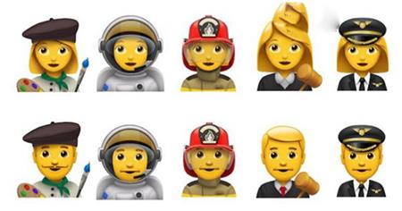 Unicode公布Emoji 4.0的提议表情:将加入新职业3