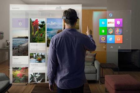 没有VR头盔也要赢:微软开发Holographic平台一统VR和AR