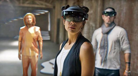 没有VR头盔也要赢:微软开发Holographic平台一统VR和AR2