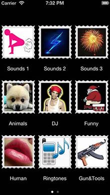 超酷音效合辑iOS版 V3.3.3 - 截图1