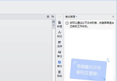 wps文字没保存如何恢复未保存文档2