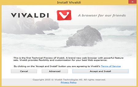 vivaldi浏览器官方版 v1.3.551.38 - 截图1