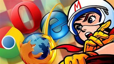 四大浏览器速度评测:Chrome17领先