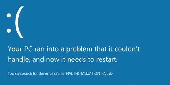 微软蓝屏二维码