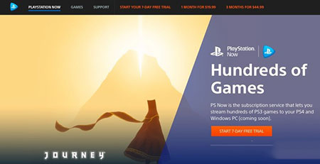 索尼发布Playstation Now PC版:只需缴纳月费即可进行游戏