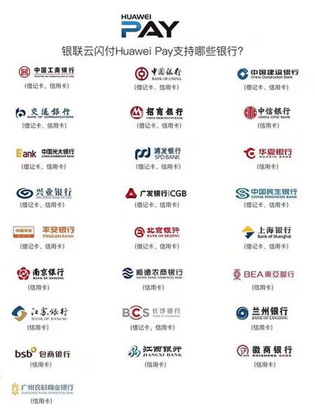 中国银联联合华为公司举行发布会:银联云闪付将全面支持HUAWEI pay