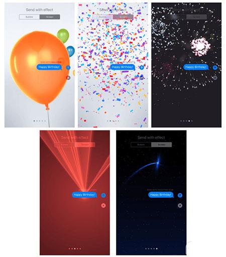 iOS10短信中发送动画方法3