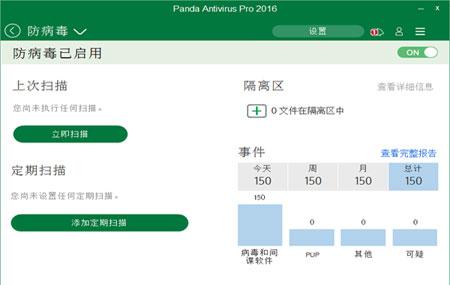 Panda Antivirus Pro(病毒查杀工具)绿色版 v2.1.0 - 截图1